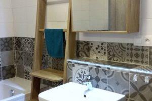 kúpeľňová zostava dub masív + dýha