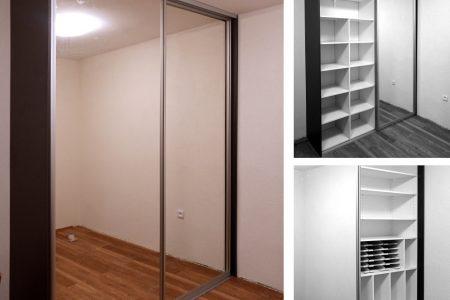 zrkadlové dvere roldoor