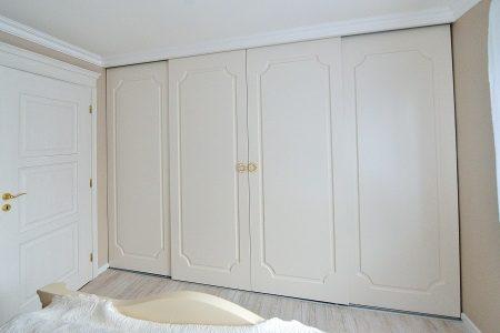 posuvné dvere bez madiel - striekané, frézované